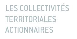 Les collectivités territoriales actionnaires