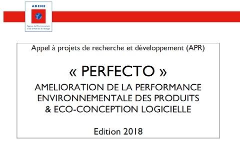 Financez vos projets R&D éco-innovants avec PERFECTO 2018