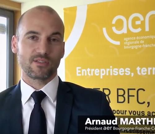 S'implanter, se développer en région Bourgogne-Franche-Comté – Arnaud Marthey, AER BFC