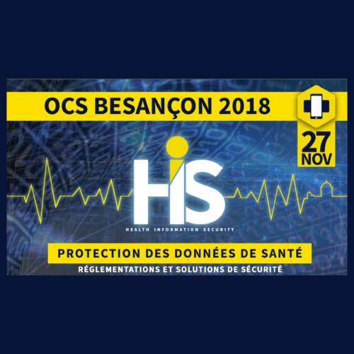 Colloque National sur la Protection des Données de Santé – OCS Besançon 2018
