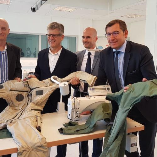 L'Agence Économique Régionale de Bourgogne-Franche-Comté et l'ensemble de ses partenaires font aboutir un projet industriel, porteur d'un grand nombre d'emplois, à Vesoul
