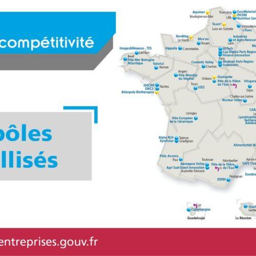 Labellisation des pôles de compétitivité de Bourgogne-Franche-Comté