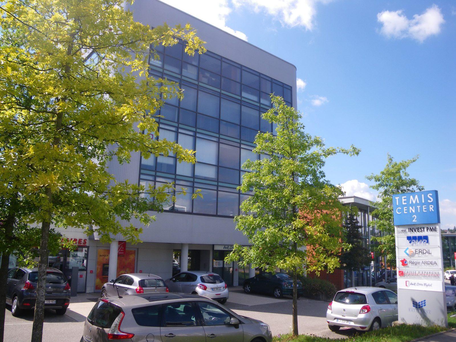 bureaux modulables besançon 195,62m2