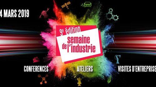 Participez à la Semaine de l'industrie du 18 au 24 mars 2019