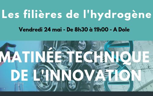 Matinée technique de l'innovation #1 : les filières de l'hydrogène