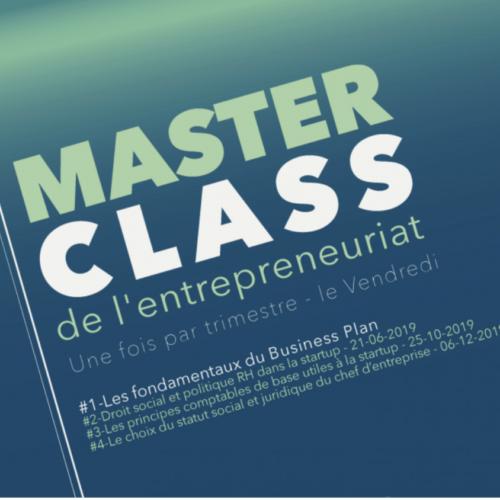 Master Class de l'entrepreneuriat