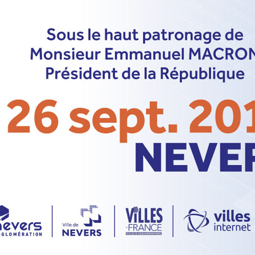 2nd Sommet International de l'Innovation en Villes Médianes le 26 septembre à la Maison des sports de Nevers
