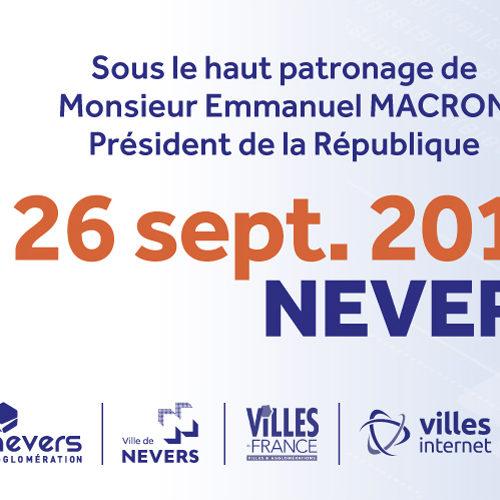 2nd Sommet International de l'Innovation en Villes Médianes le 26 septembre à la Maison des sports de Nevers