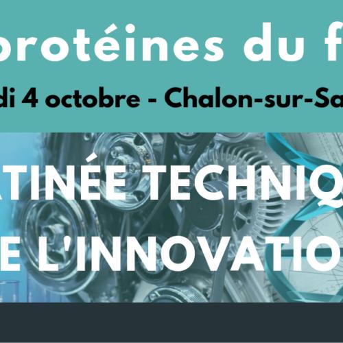 Matinée technique de l'innovation #3 : Les protéines du futur