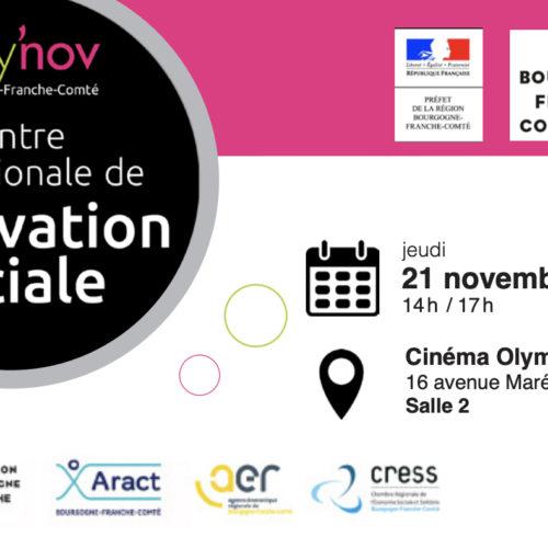 Rencontre régionale de l'innovation sociale en Bourgogne-Franche-Comté