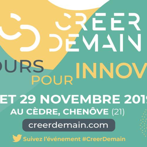 Créer Demain, 2 jours pour innover