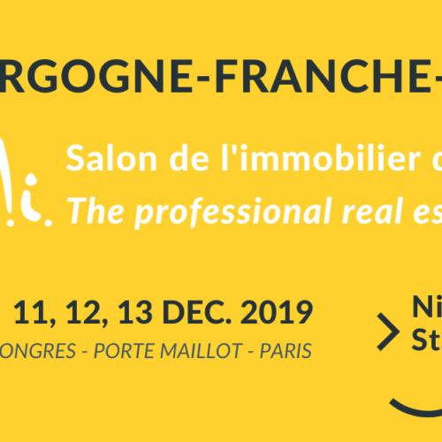 Demandez votre badge au SIMI 2019 et rencontrez la région Bourgogne-Franche-Comté