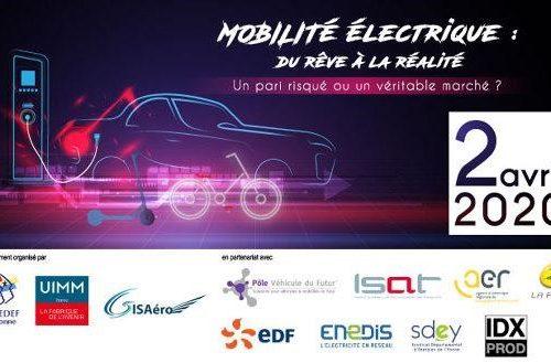 Mobilité électrique : du rêve à la réalité – REPORTE au 10 septembre