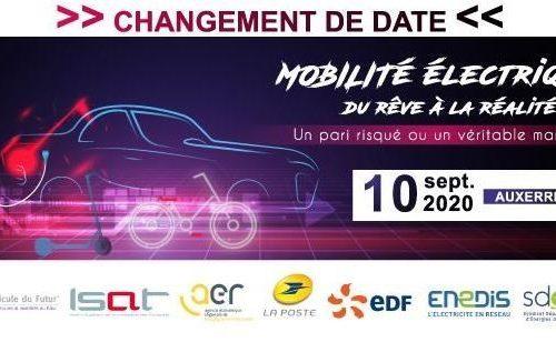 Événement à Auxerre le 10 septembre 2020: Mobilité électrique et Hydrogène, une journée pour faire le point