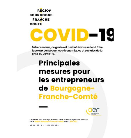 Covid-19 - Mesures pour les entrepreneurs