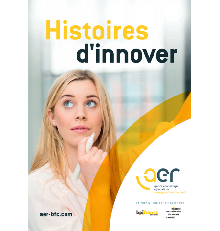 Couverture Histoire d'innover
