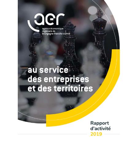 Couverture rapport d'activité 2019 AER BGFC