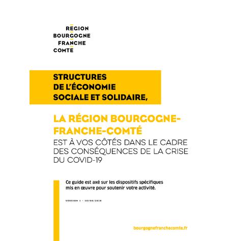 Covid-19 - Structures de l'économie sociale et solidaire