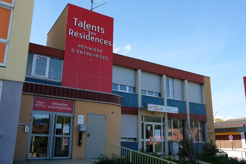 Photo bâtiment Pépinière Talents en Résidence