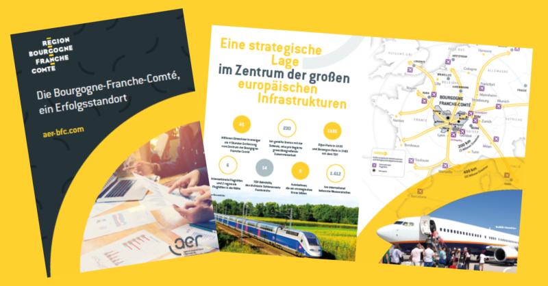 Visuels brochure BFC en allemand