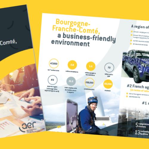 Brochure BFC – Terre de réussite en anglais et en allemand !