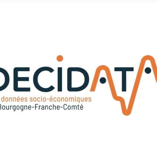 Découvrez Décidata, la nouvelle plateforme d'observation socio-économique en région Bourgogne-Franche-Comté