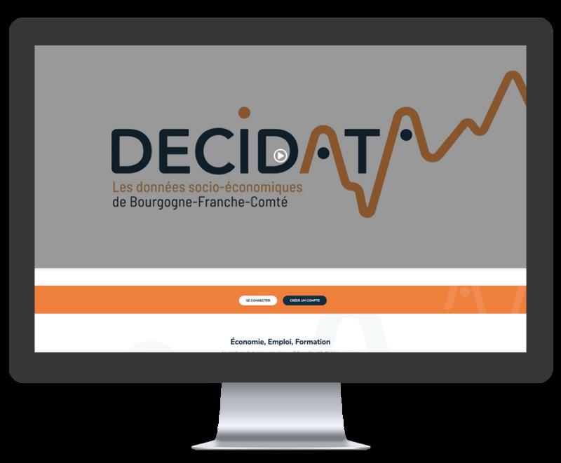 Mockup site Décidata