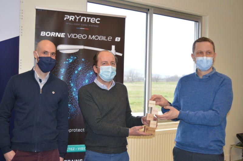 Remise de prix Pryntec