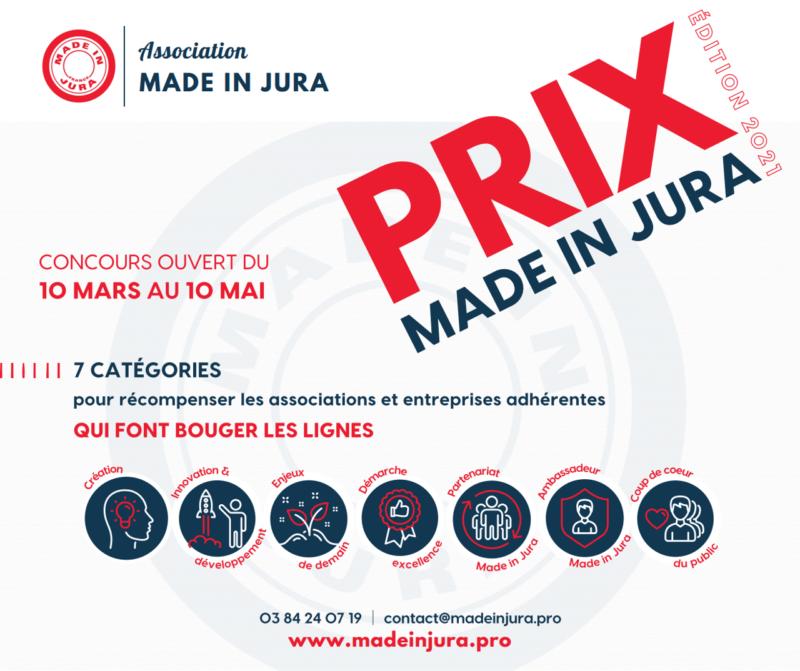 Visuel Prix Made in Jura 2021
