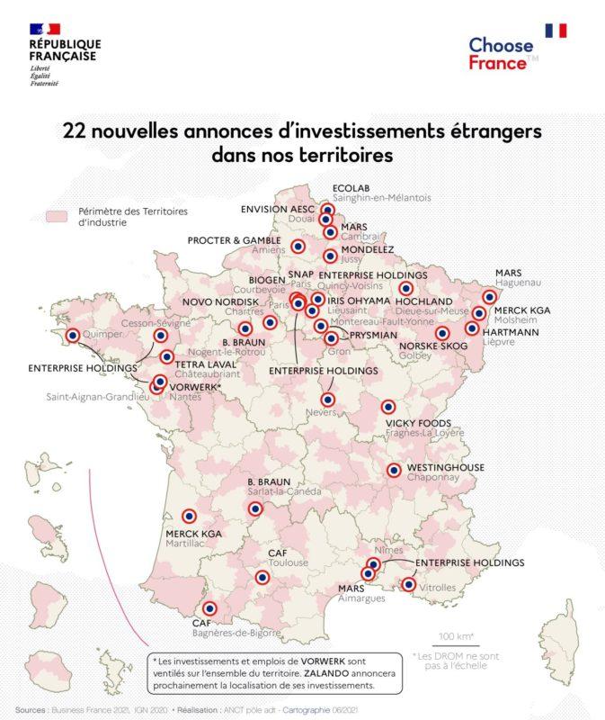 Carte Choose France