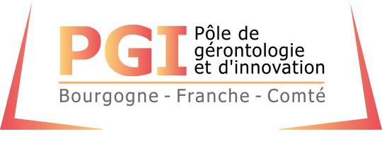 Logo Pôle de Gérontologie et d'Innovation BFC