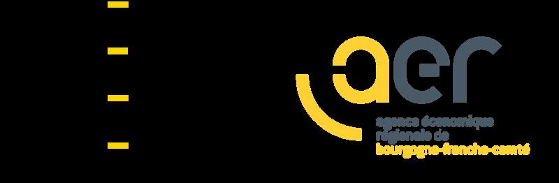 Logos Région BFC et AER BFC
